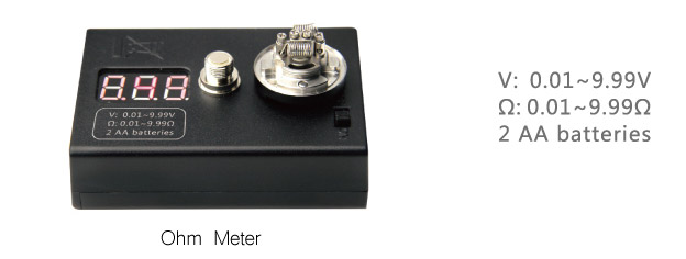 Coil Mate Ohm Meter