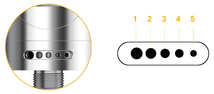 Aspire Nautilus 2 Tank Airflow