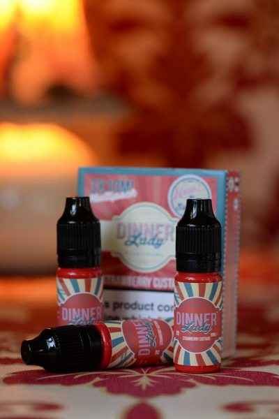 Strawberry Custard | E Liquid | by Dinner Lady