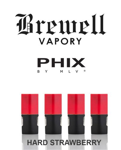 Phix Pod Hard Strawberry