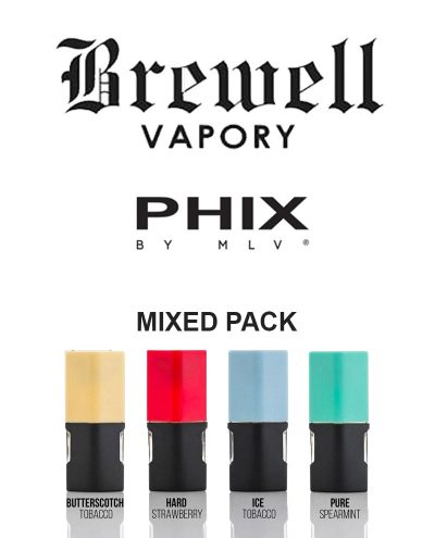 Mixed Pack 4 pack by Phix Vapour