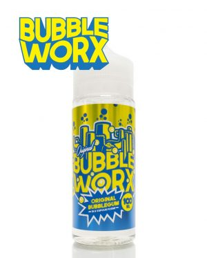 Original Bubbleworx 100ml Shortfill