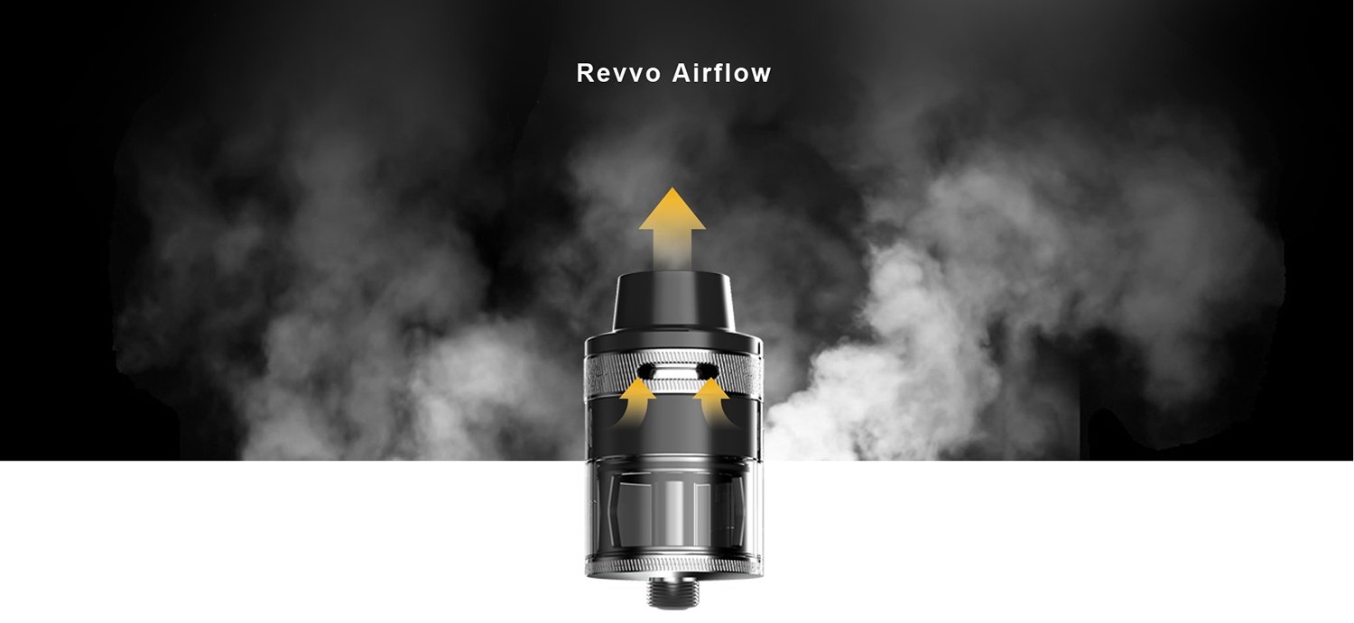 Aspire Revvo Tank Airflow