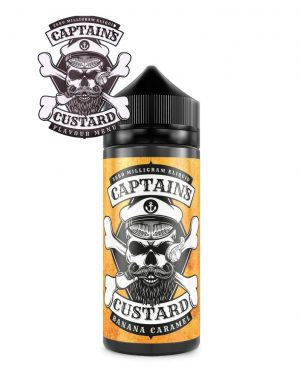 Captains Custard E-Liquid Banana Caramel
