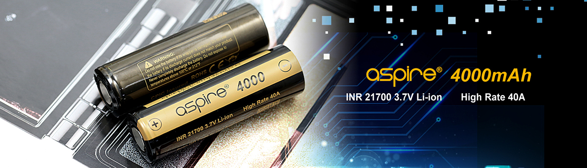 Aspire 4000 Battery - INR 21700