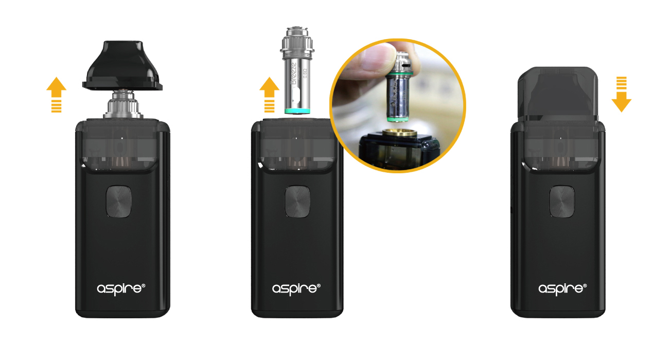 Aspire Breeze 2 AIO Kit Coil Installation