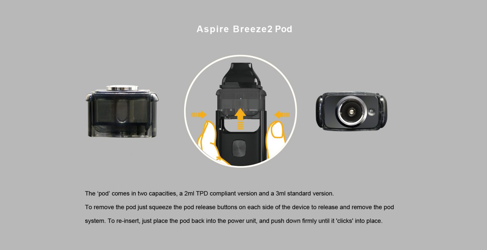 Aspire Breeze 2 AIO Kit Pods
