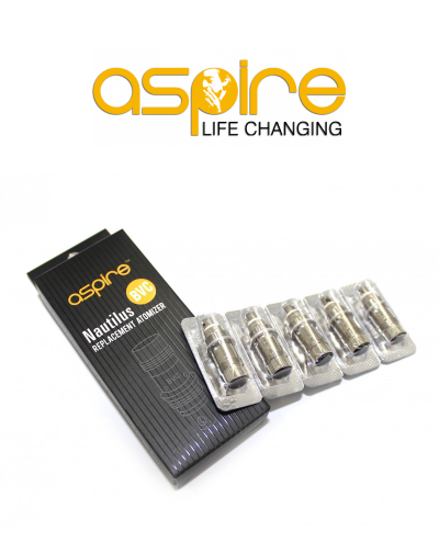 Aspire Nautilus BVC Replacement Coil Heads