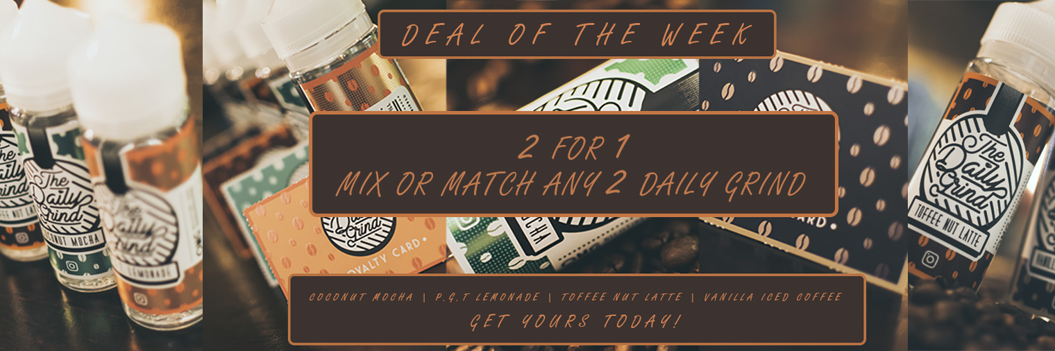 Daily Grind - 2 For 1 Deal Of The Week