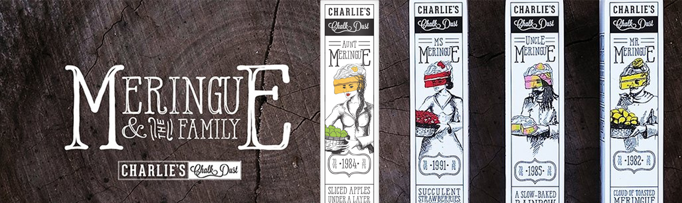 Meringue & The Family by Charlie's Chalk Dust