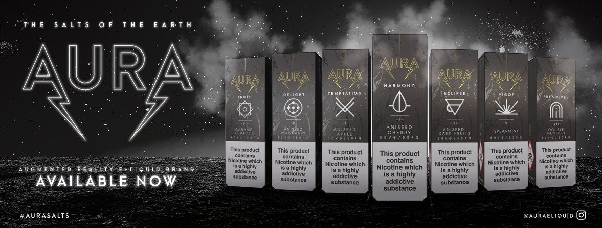 Aura Augmented Reality Interactive E-Liquid