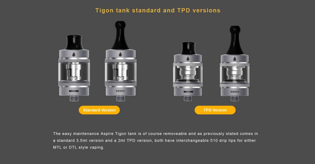 Aspire Tigon Kit Tank