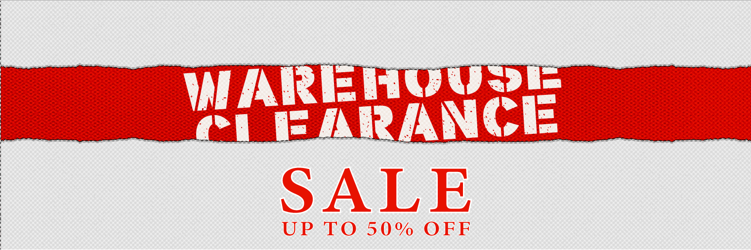 Warehouse Clearance Sale - Up To 50% Off