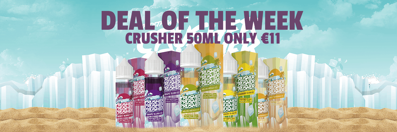 Deal of The Week - Crusher 50ml Only €11