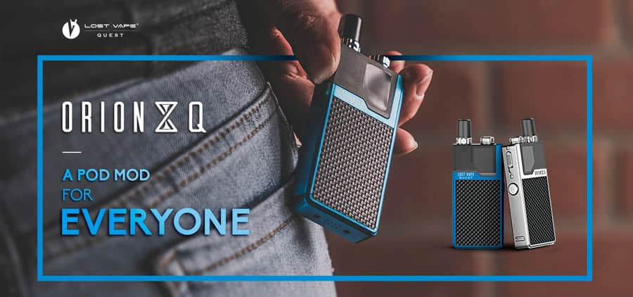 Lost Vape Orion Q Kit - A Pod Mod For Everyone
